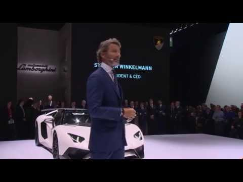 Huracán LP 610-4 Spyder: Lamborghini Press Conference IAA 2015 (short)