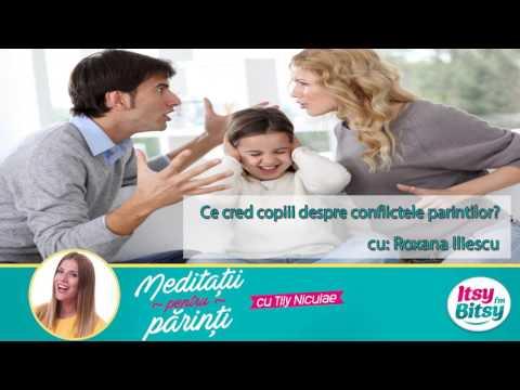 Ce cred copiii despre conflictele parintilor?