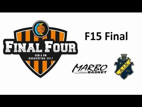 F15 Final Marbo Basket - AIK Basket