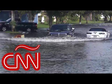 Inundaciones en el sur de la Florida por la tormenta tropical Eta