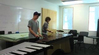 iPhone Marimba ringtone (Marimba duet cover)