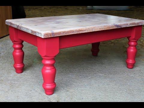 покраска деревянного стола переделка от Dovna Enterprises