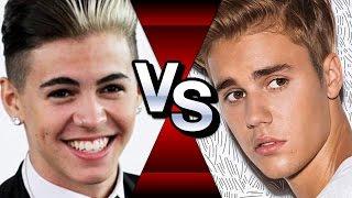 Biel contra Justin Bieber - Duelo dos Cantores