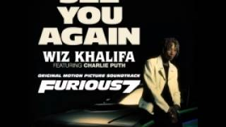 Wiz Khalifa Ft Charlie Puth See You Again (Audio)