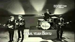 Beatles - Boys [FULL HD] w/ lyrics