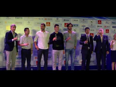 Dimitrov Thiem Lopez Celebrate Inaugural Chengdu Open 2016