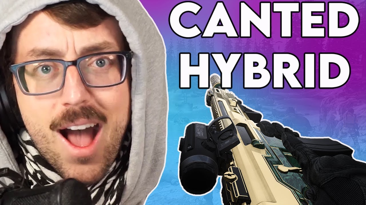 Bobby Poff - THE CANTED HYBRID IS THE BEST SCOPE IN WARZONE!