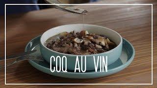 Receita do COQ AU VIN tradicional francês | Le Plat du Jour