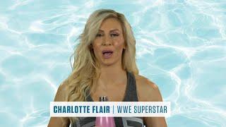 WWE Superstar Charlotte Flair - Choose Water SummerSlam Sweepstakes