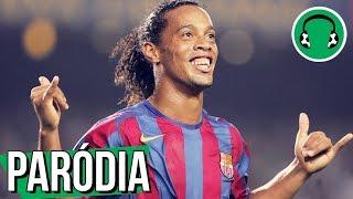 ♫ RONALDINHO canta VOU TE DIBREI | Paródia Vamos Beber - Dennis DJ feat. João Lucas & Marcelo