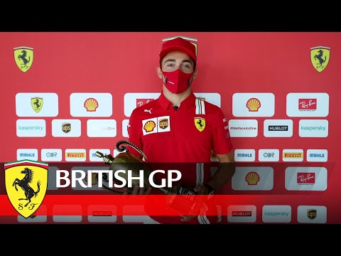 British GP - Tifosi, Charles Leclerc has a message for you!
