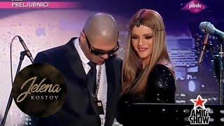 Juice i Jelena Kostov - Rakija i Diskoteka - Ami G Show - (Tv Pink 2013)
