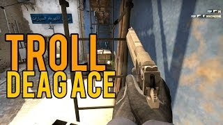 CS:GO - TROLL sets up Deagle Ace