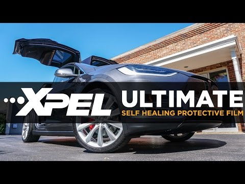 2016 Tesla Model X P90D XPEL ULTIMATE Clear Bra Installation - Clear Auto Bra St.Louis