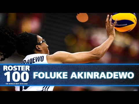 Most Impressive Plays by Foluke Akinradewo! 🇺🇸🏐 | Best of Volleyball World | #ROSTER100