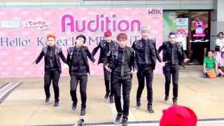 130630 The Empire cover VIXX - On and On @Hello! Korea by MBK & iTeen (Audition)