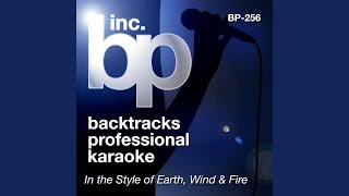 Let's Groove (Karaoke Instrumental Track) (In the Style of Earth, Wind and Fire)