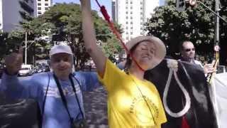 Primeira Dama de MG Carolina Oliveira Protestos