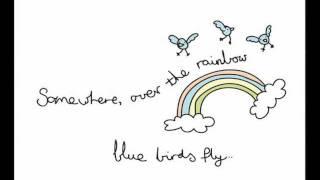 Over the rainbow & a wonderful world animation.
