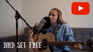 Bird Set Free - SIA- Acoustic Cover by Frida Isaksen