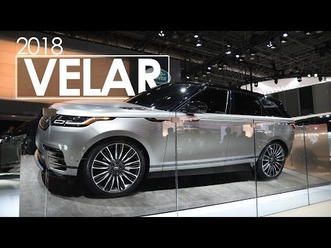 Land Rover Velar | First Look & Review | 2017 New York Auto Show