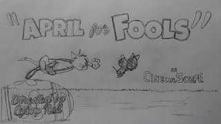 "Tom and Jerry intro test for ""April for Fools"" in CinemaScope"