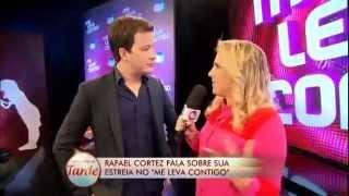 """Renata Rode participa da coletiva de imprensa do """"Me Leva Contigo"""""""