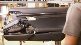 The production process of the 911 Turbo S Exclusive Series – Saddlery.