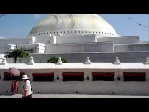Kathmandu, Nepal Oct,2012 –  Boudhanath Stupa