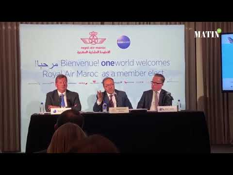 Video : Royal Air Maroc intègre l'alliance «Oneworld»