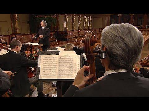 Mensaje de ánimo y esperanza de la Filarmónica de Viena en Año Nuevo