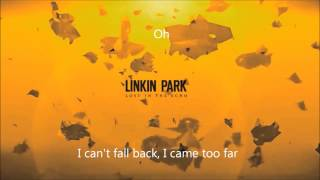 LINKIN PARK - LOST IN THE ECHO (Extended Intro) w/Lyrics HD
