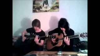 Black veil brides-Perfect weapon (dual Acoustic cover)