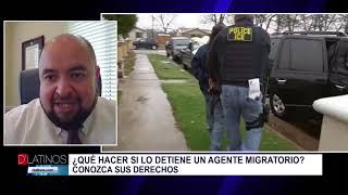 ¿Qué hacer si lo detiene un agente migratorio?