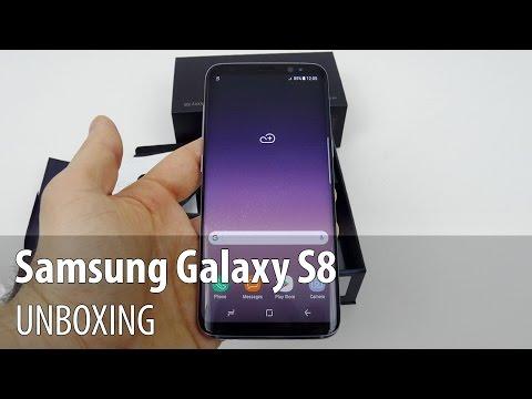 Samsung Galaxy S8 Unboxing în Limba Română