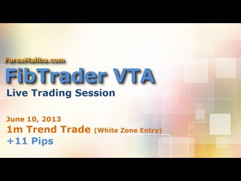 FibTrader VTA Day Trading Software - LIVE TRADE!!