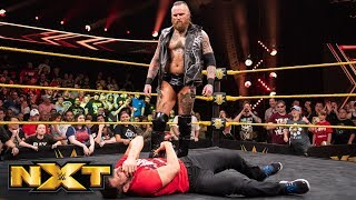 Aleister Black wipes out Johnny Gargano with Black Mass: WWE NXT, Aug. 1, 2018 width=