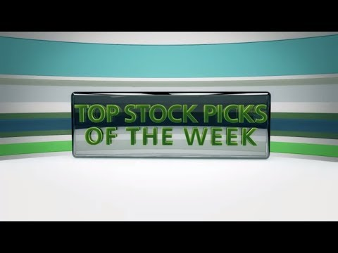 Top Stock Picks for the Week of Aug 13, 2018