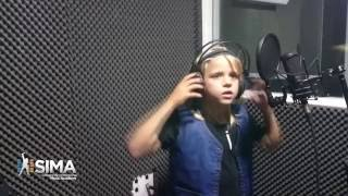 I Wanna Rock (Twisted Sister Cover)  by Gustav Augrell - 8 years old (SIMA Rock Camp July 2016)