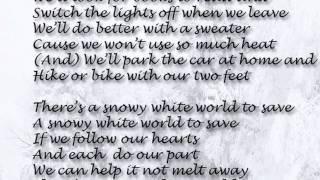 Snowy White World - LYRICS