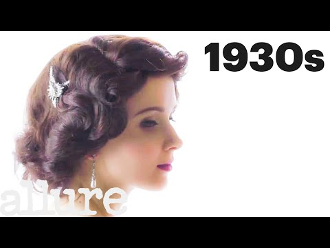 100 Years of Bridal Hair | Allure