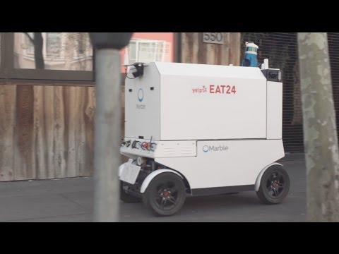 Now Yelp Eat24 can deliver your food via robot