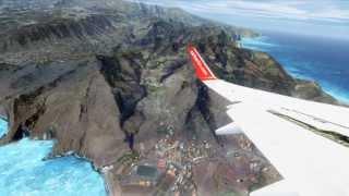 FSX Madeira Takeoff ( HD )