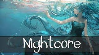 【Nightcore】→ Bottom Of The Deep Blue Sea (Lyrics)