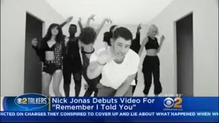 "Nick Jonas Debuts Video For ""Remember I Told You"""