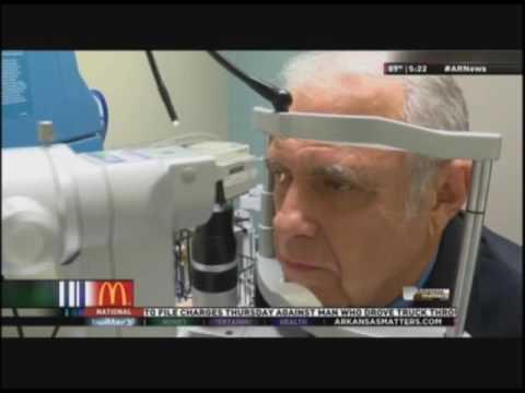 Jerry Garrett, Corneal Transplant Patient