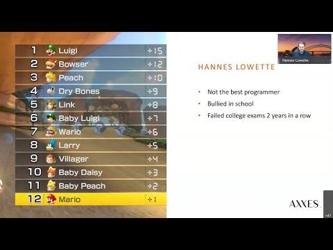 The Mario Kart™ guide to career planning -  Hannes Lowette