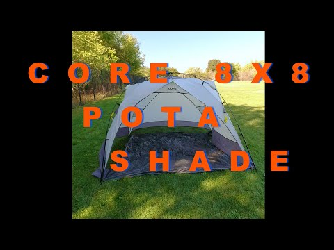 Core 8x8 Instant Sport Sun Shade, can this work for Parks On The Air, camping and maybe overlanding?