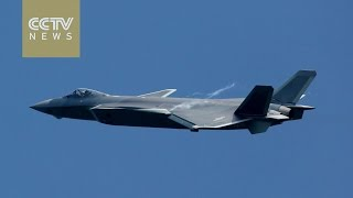 Footage: China's fifth-generation stealth fighter J20 makes debut at Zhuhai Airshow