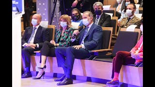 """Su Majestad el Rey preside la inauguración de la """"Enlighted 2021 Hybrid Edition"""""""